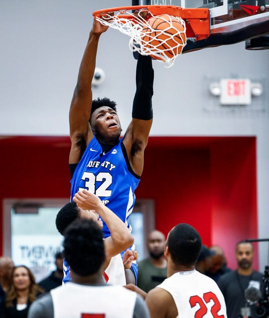 After Memphis visit, local stars Zach Randolph, Moneybagg Yo hang with top recruit James Wiseman