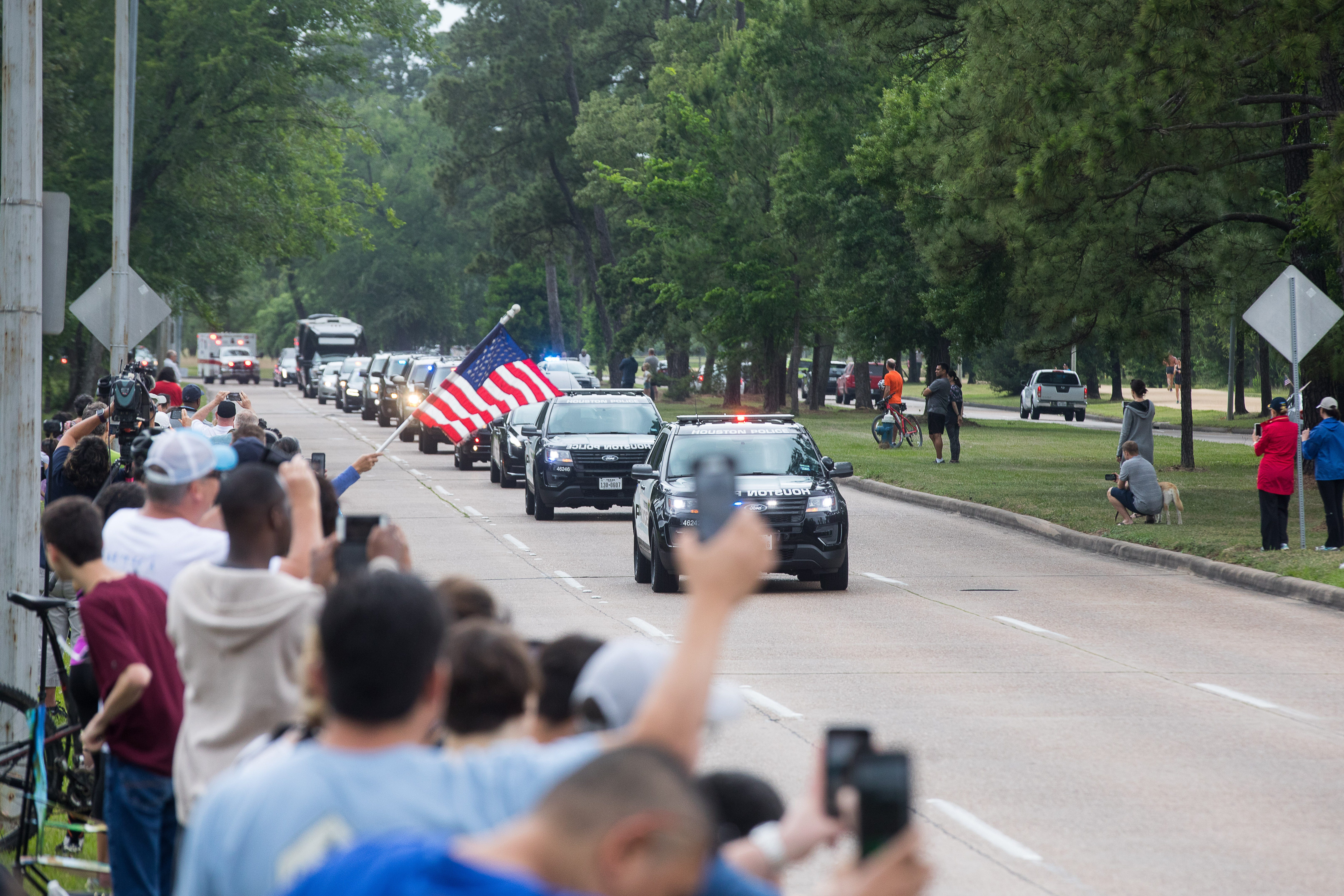 Texas says goodbye to former first lady Barbara Bush   El Paso Times
