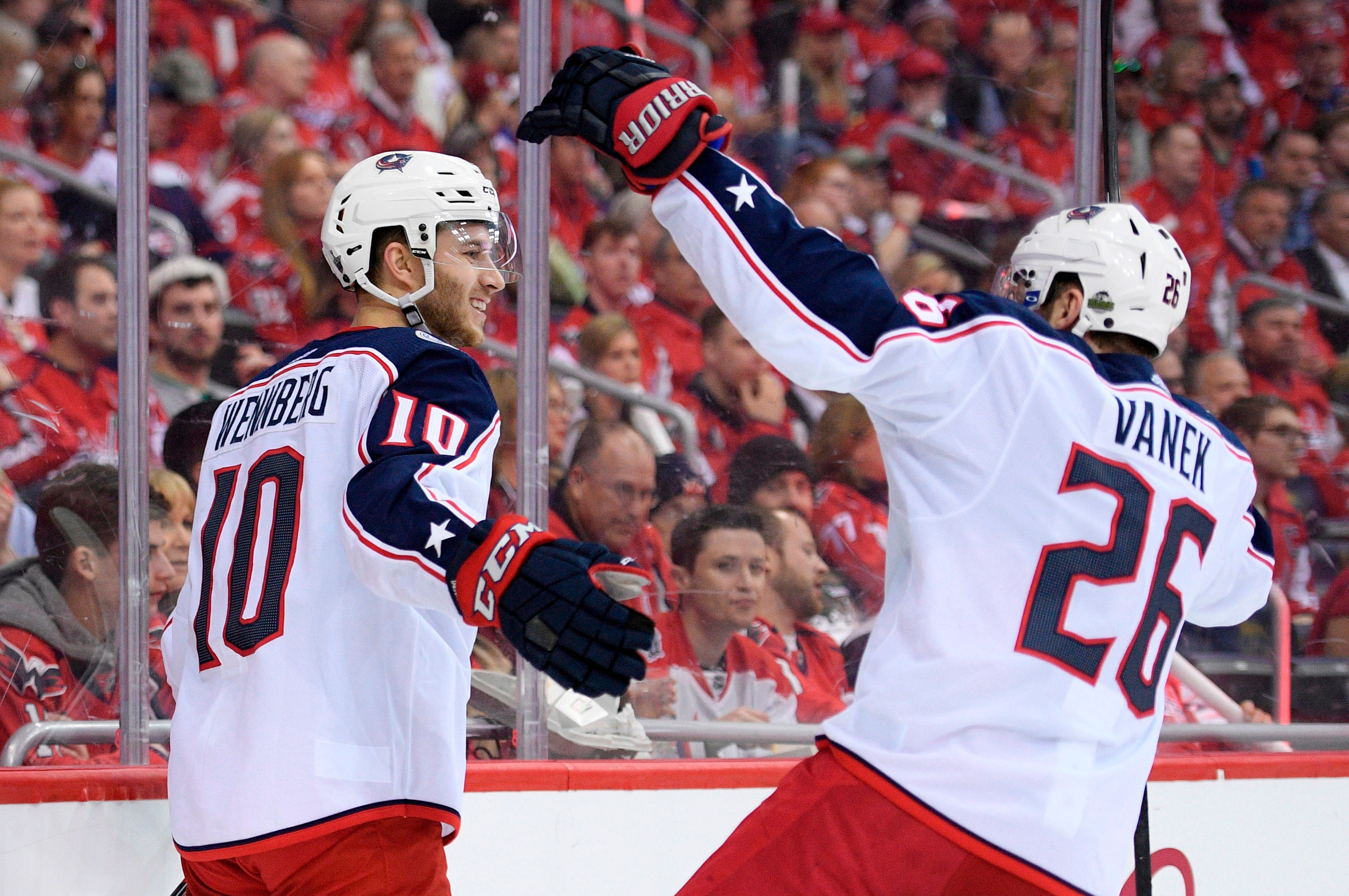 Wennberg back for Blue Jackets in Game 5 against Capitals