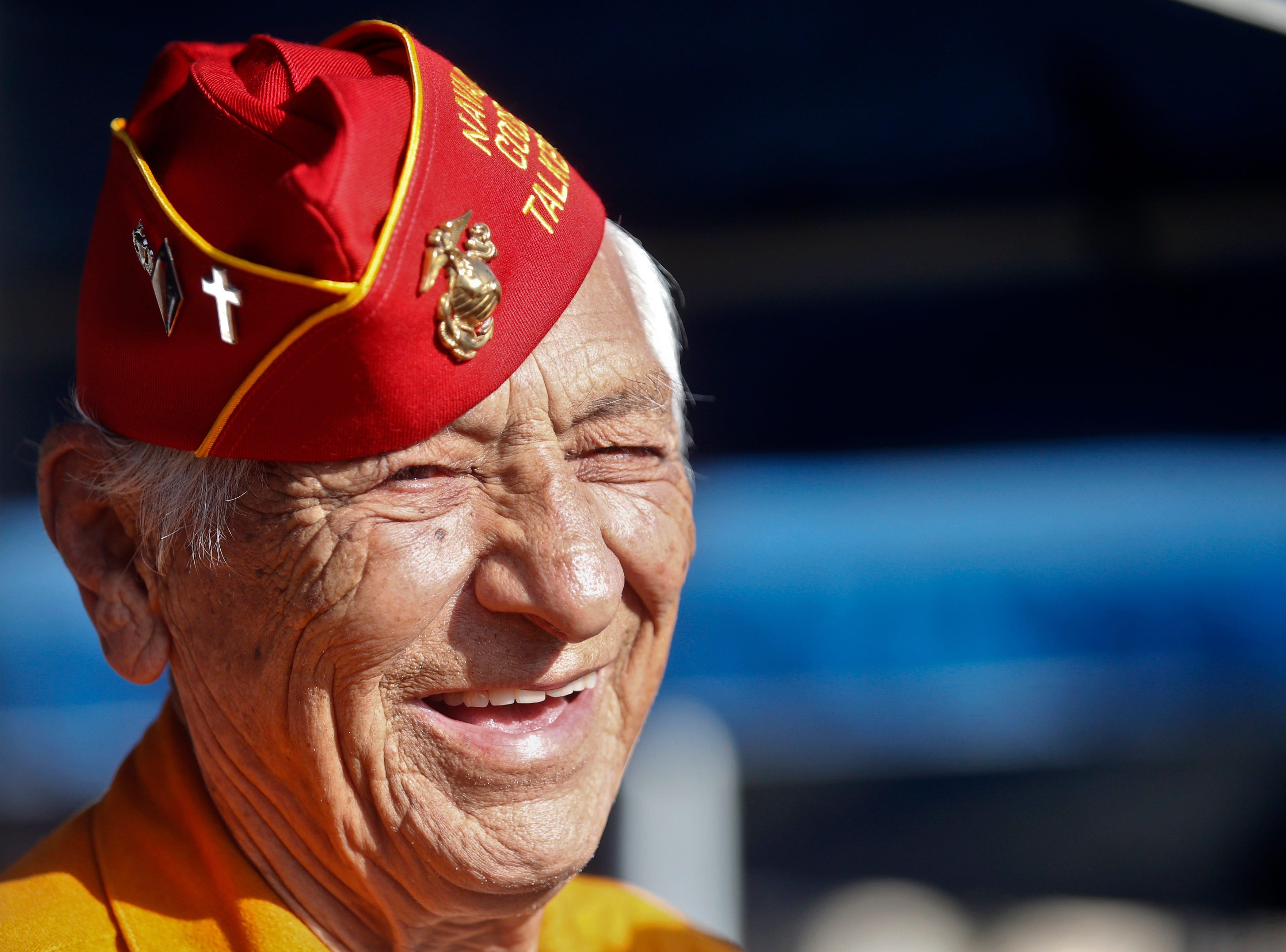 World War II Navajo Code Talker Roy Hawthorne Sr. dies at 92 | Las Cruces Sun