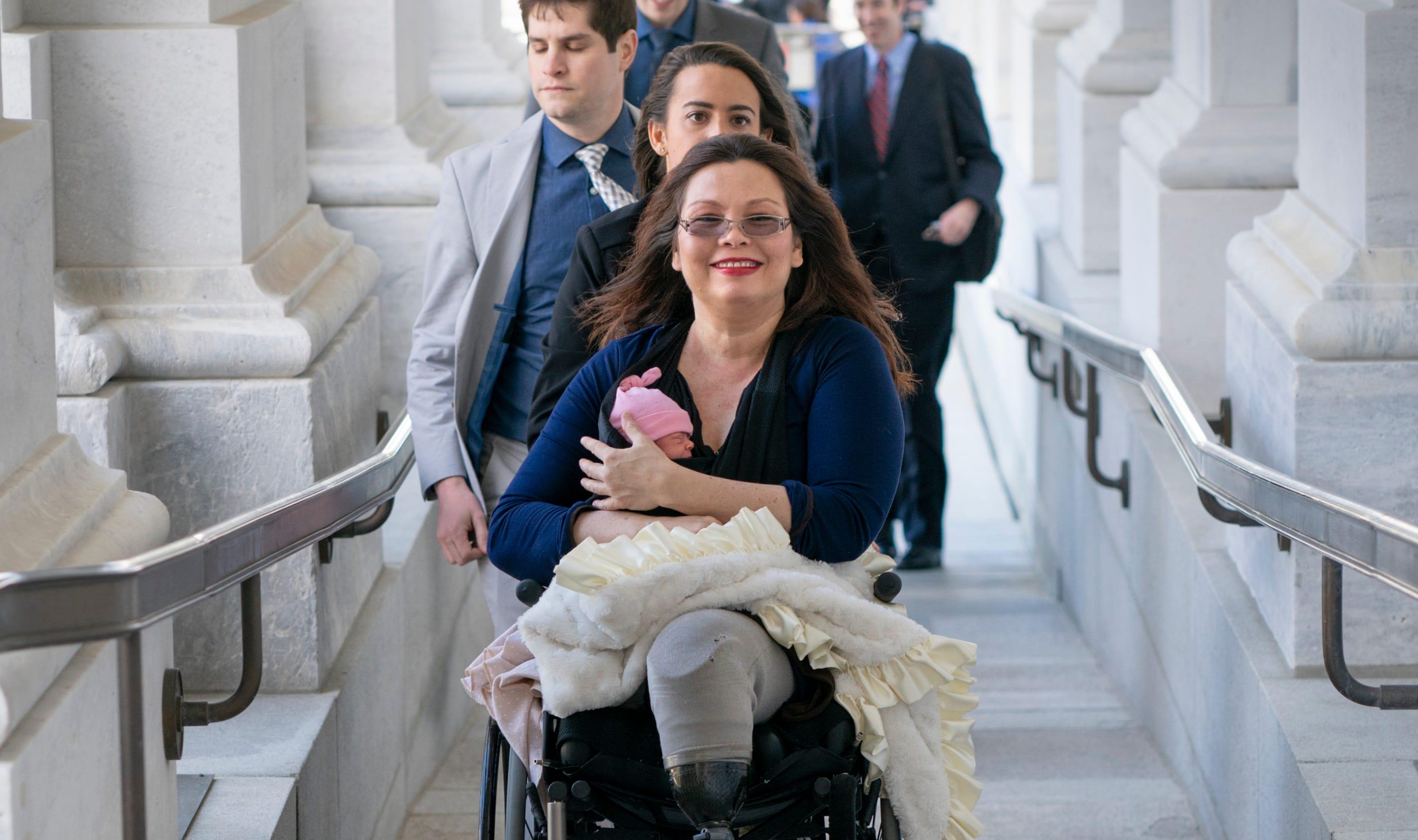 The Senate celebrates Sen. Tammy Duckworth, abandons America's other moms