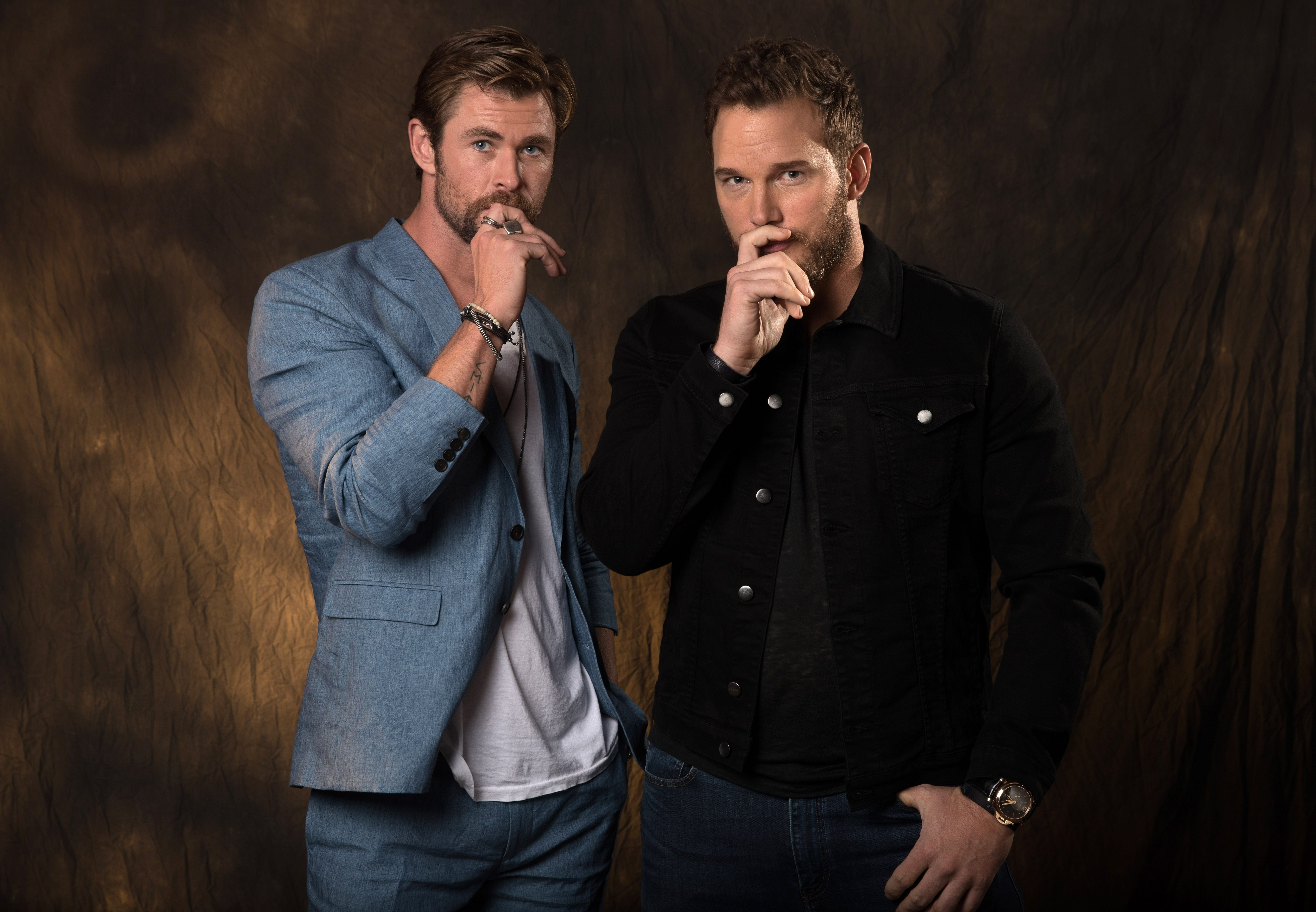 'Avengers: Infinity War': 'It's a great time to be a Chris' forHemsworth and Pratt