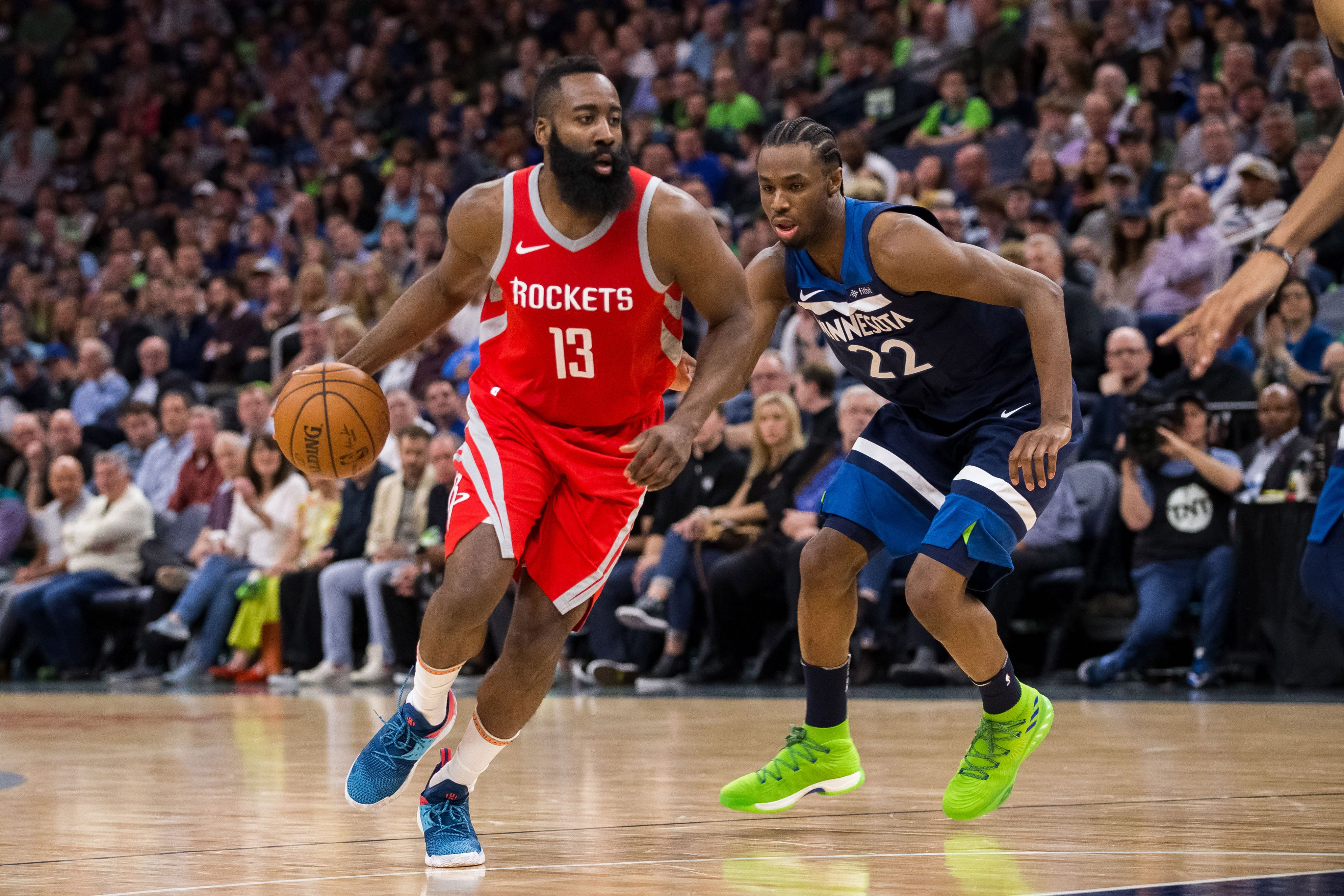 James Harden, Rockets erupt for franchise playoff record 50-point third quarter in win