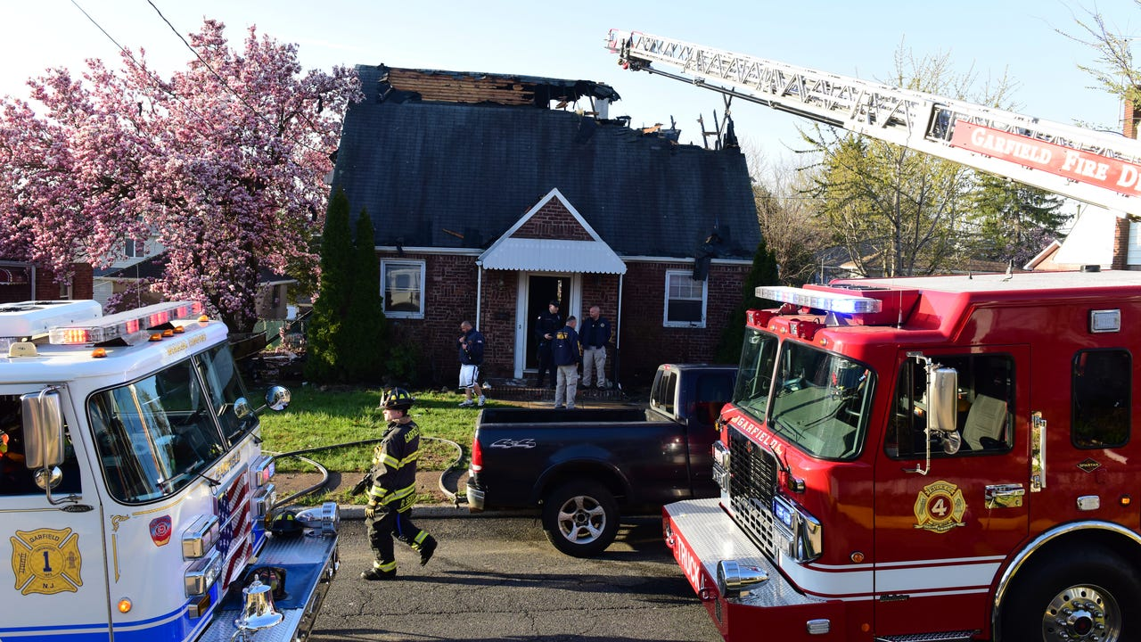Garfield Nj Fire Cause Of 2nd Fire At Home Undetermined