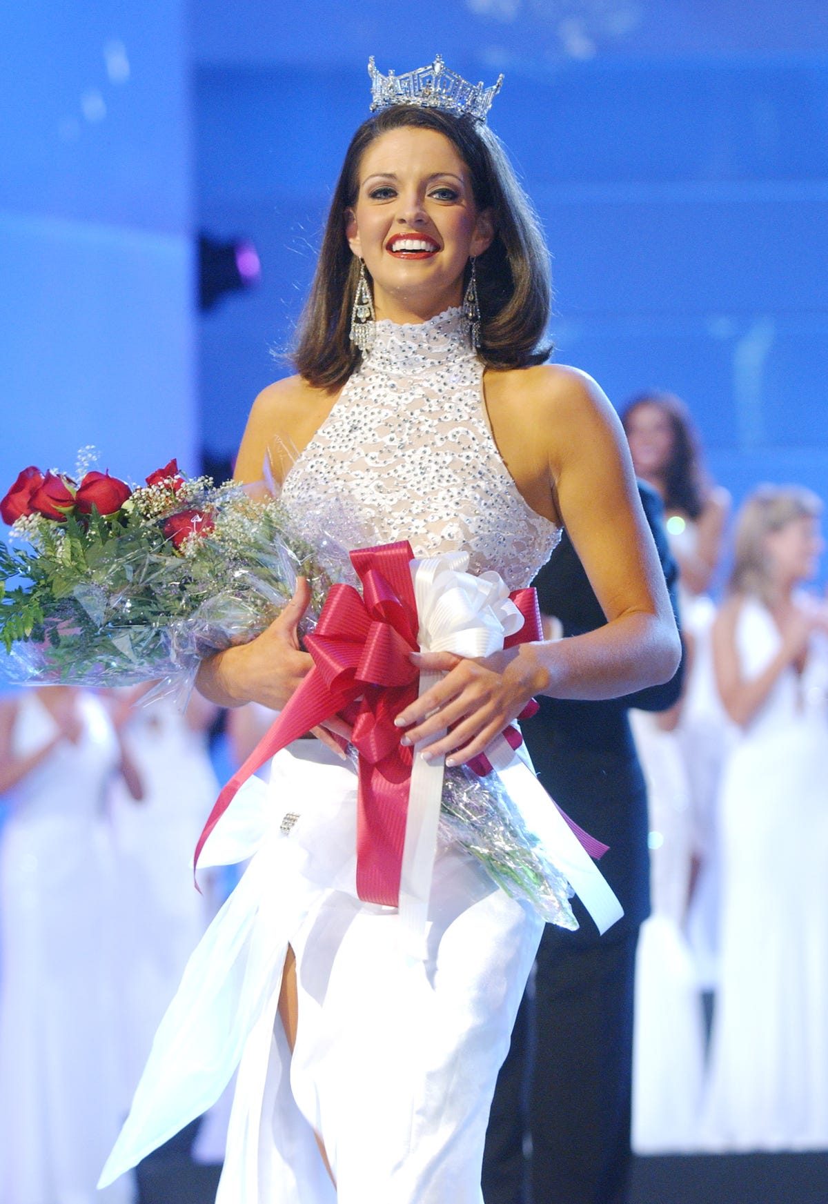 Deidre Downs Gunn, former Miss America, marries same-sex partner