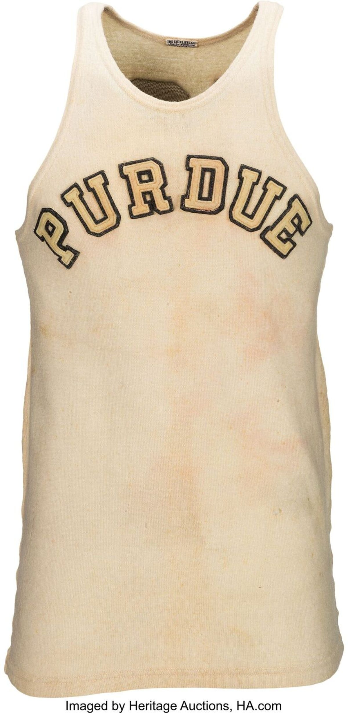new styles 3f8d4 e7c02 Drew Brees bought rare John Wooden Purdue jersey to display ...