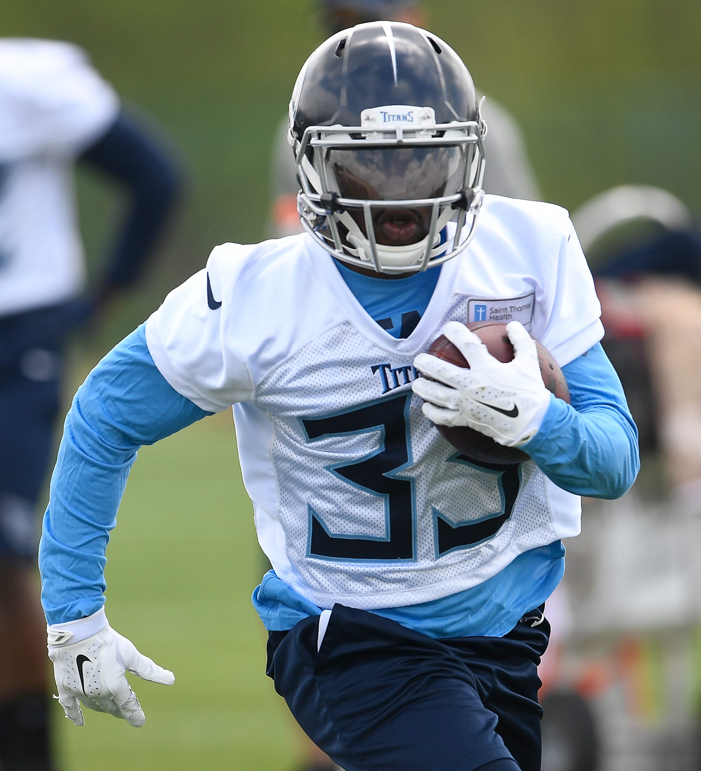 Titans' Derrick Henry, Dion Lewis expect to form top running back tandem in NFL