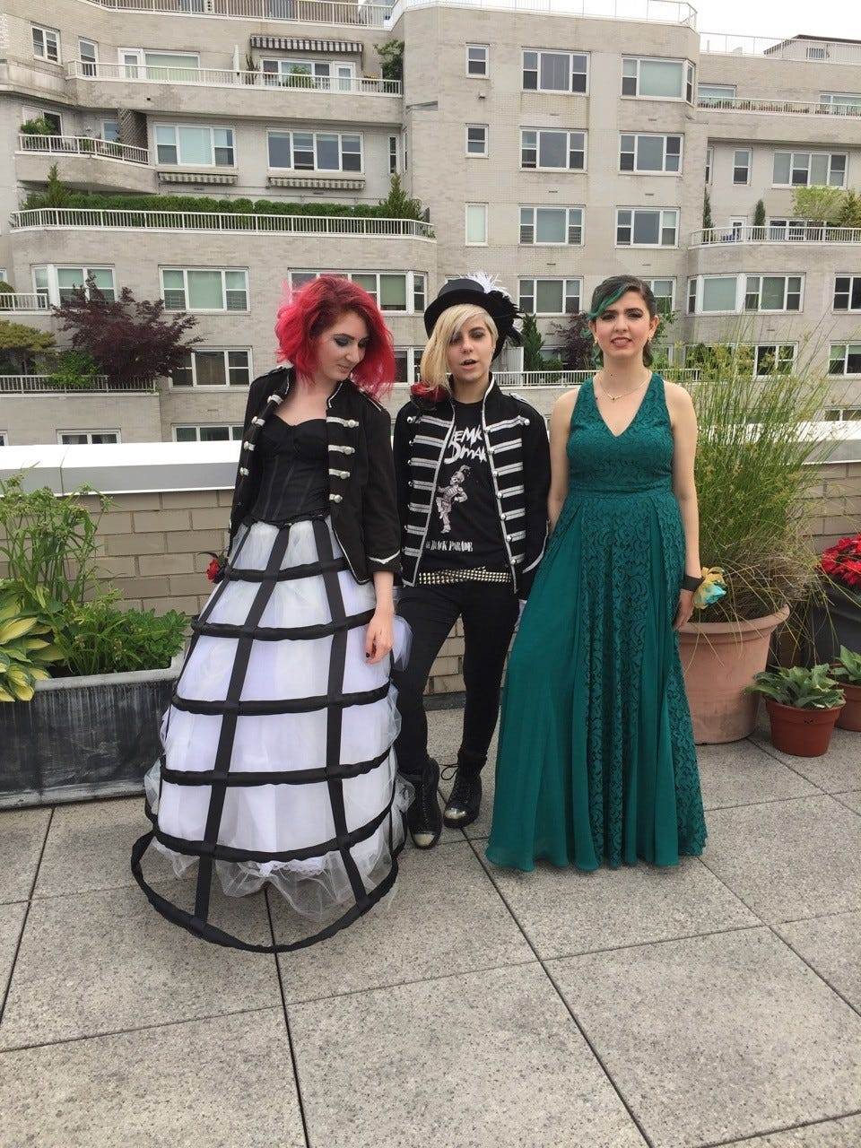 c9bc741f54 How prom fashion has evolved from ubiquitous gowns to include DIY and  gender fluid options