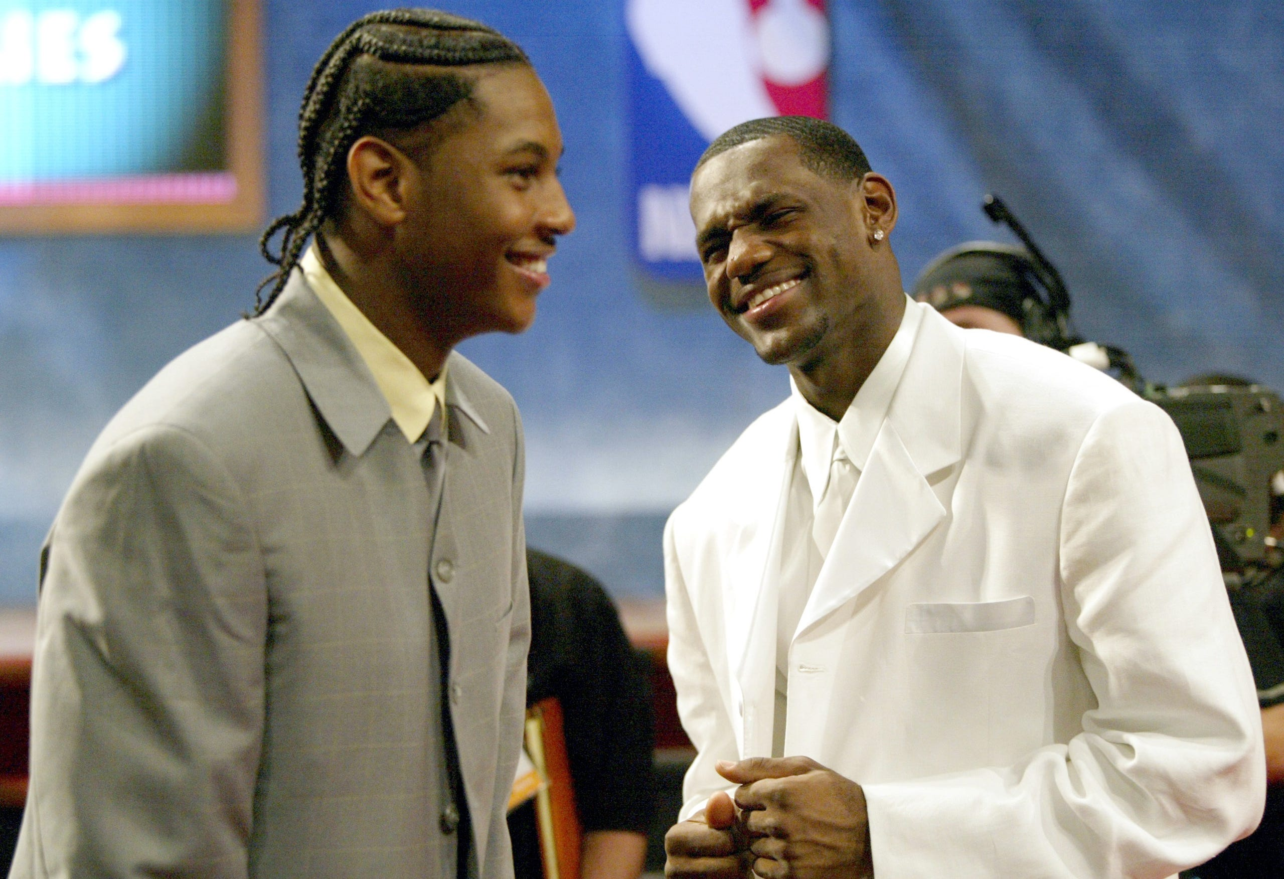 """Image result for carmelo big suit 2003"""""""