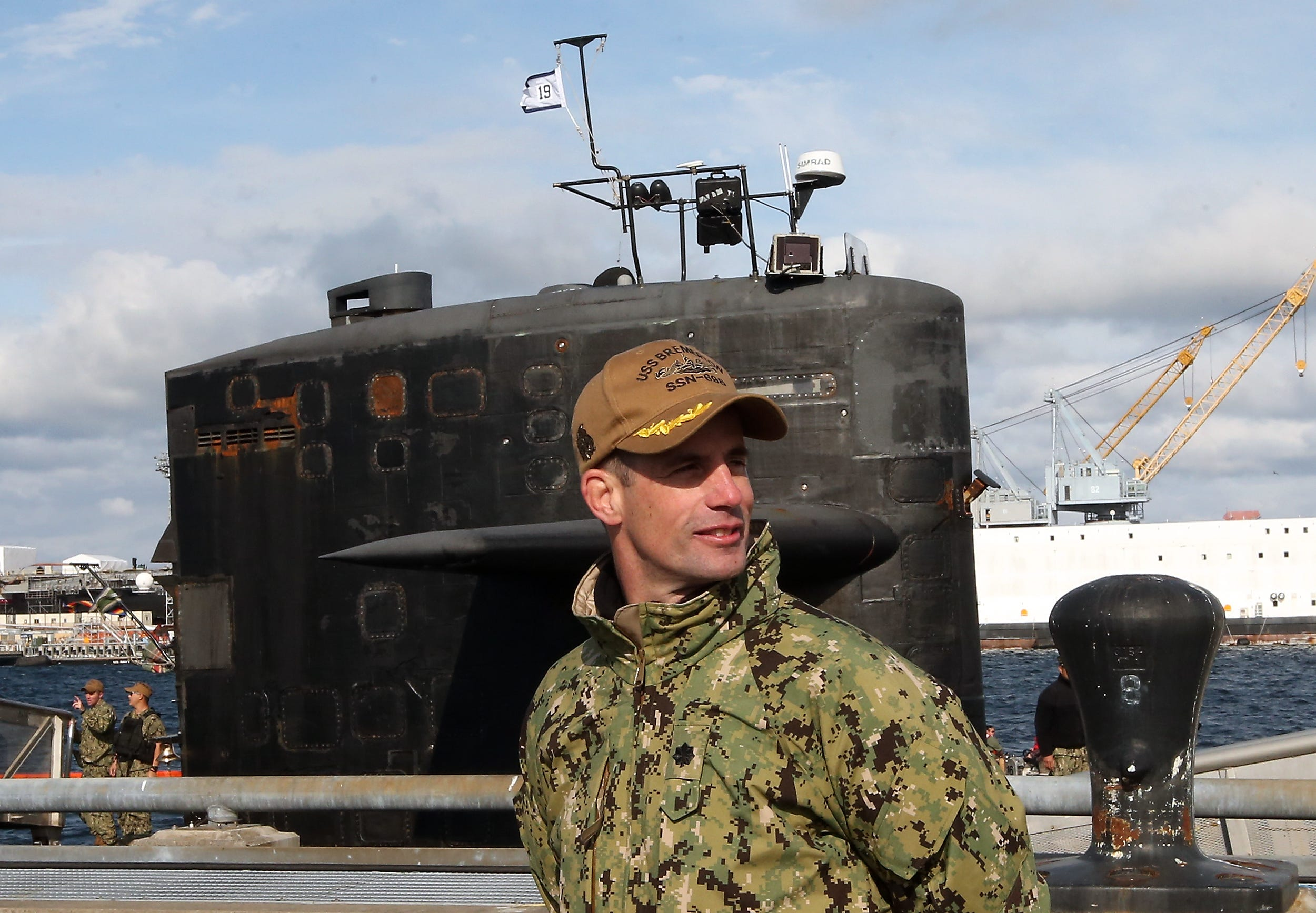 Navy sub commander relieved of duty for hiring prostitutes in Philippines