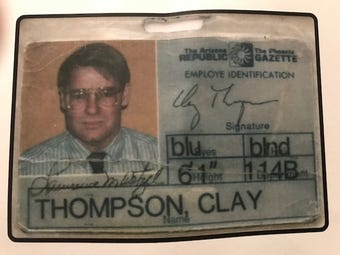 We all love charity. And we all loved columnist Clay Thompson, who died last year. Here's a chance to support both, columnist EJ Montini says.