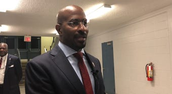 "CNN political contributor, host of ""The Van Jones Show"" and Jackson native Van Jones speaks to graduates at Lane College."