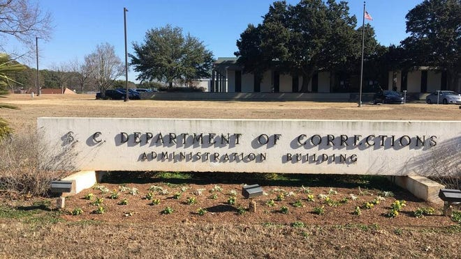 S.C. Department of Corrections on Broad River Road in Columbia.