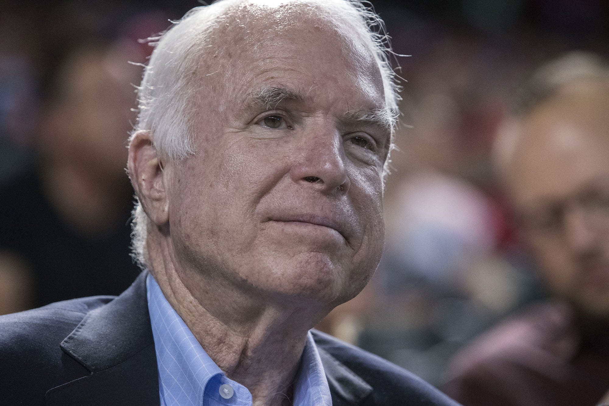 John McCain, stormy and unchangeable, taught us to never give in to torture