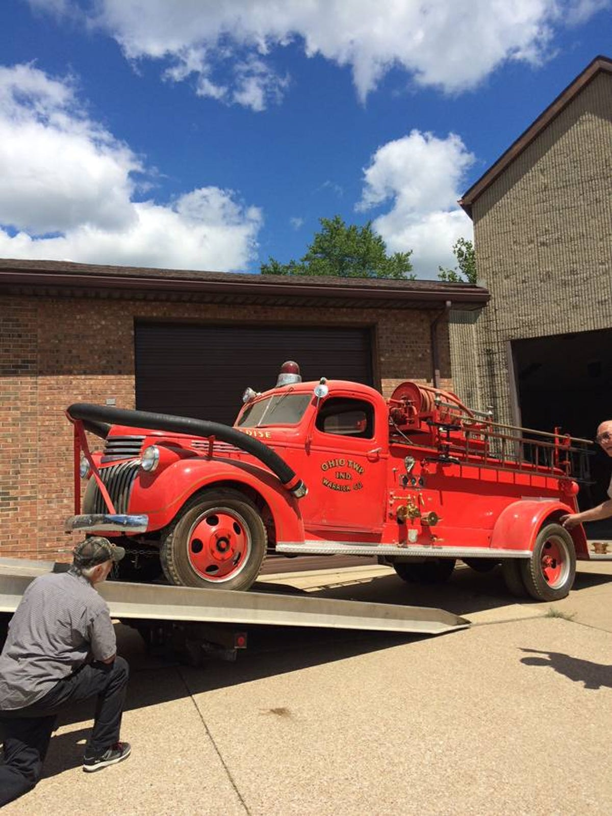 Wanna buy a 72-year-old firetruck with low mileage?