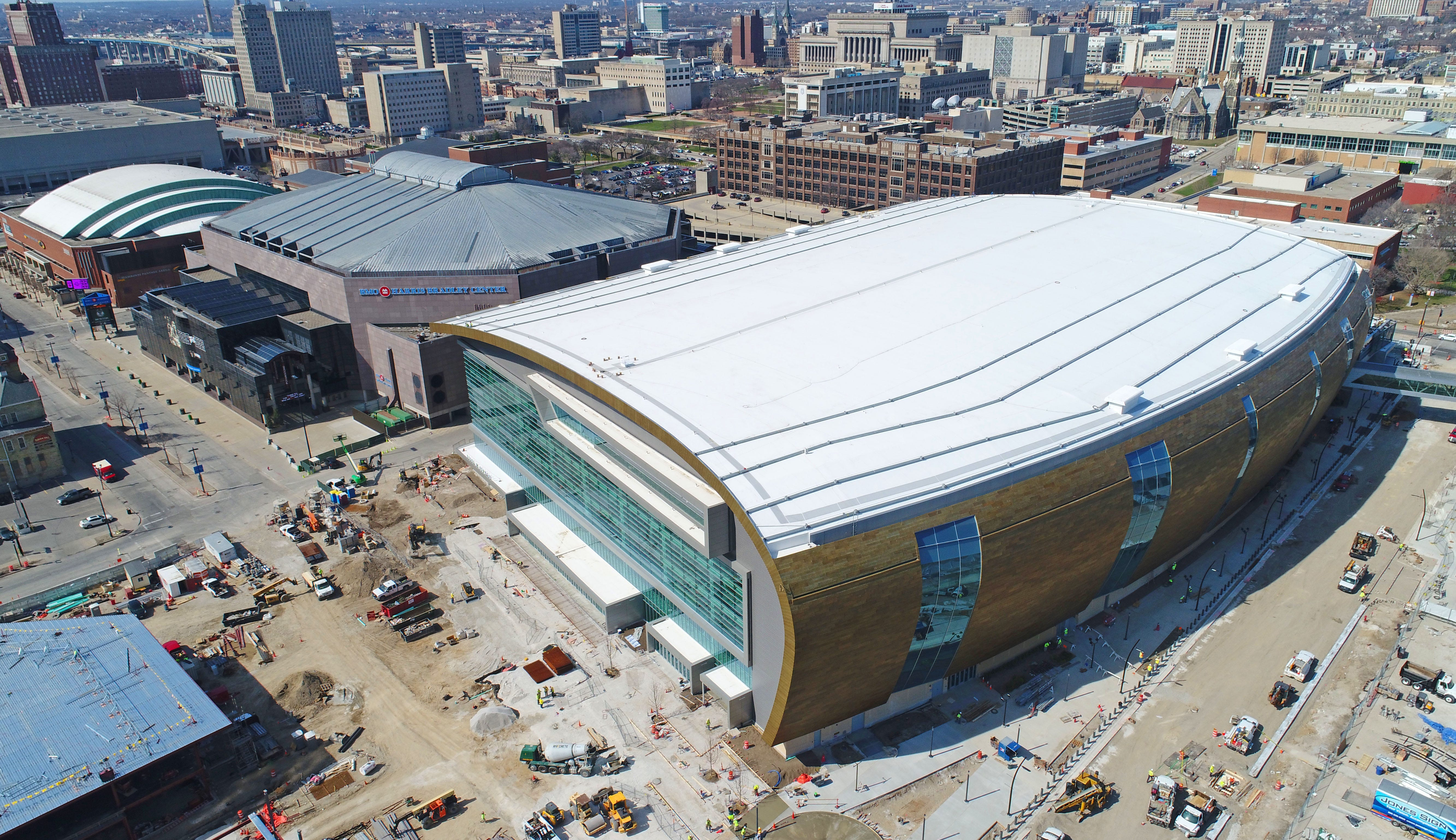 Drone video: Take a look at the nearly-complete Milwaukee ...
