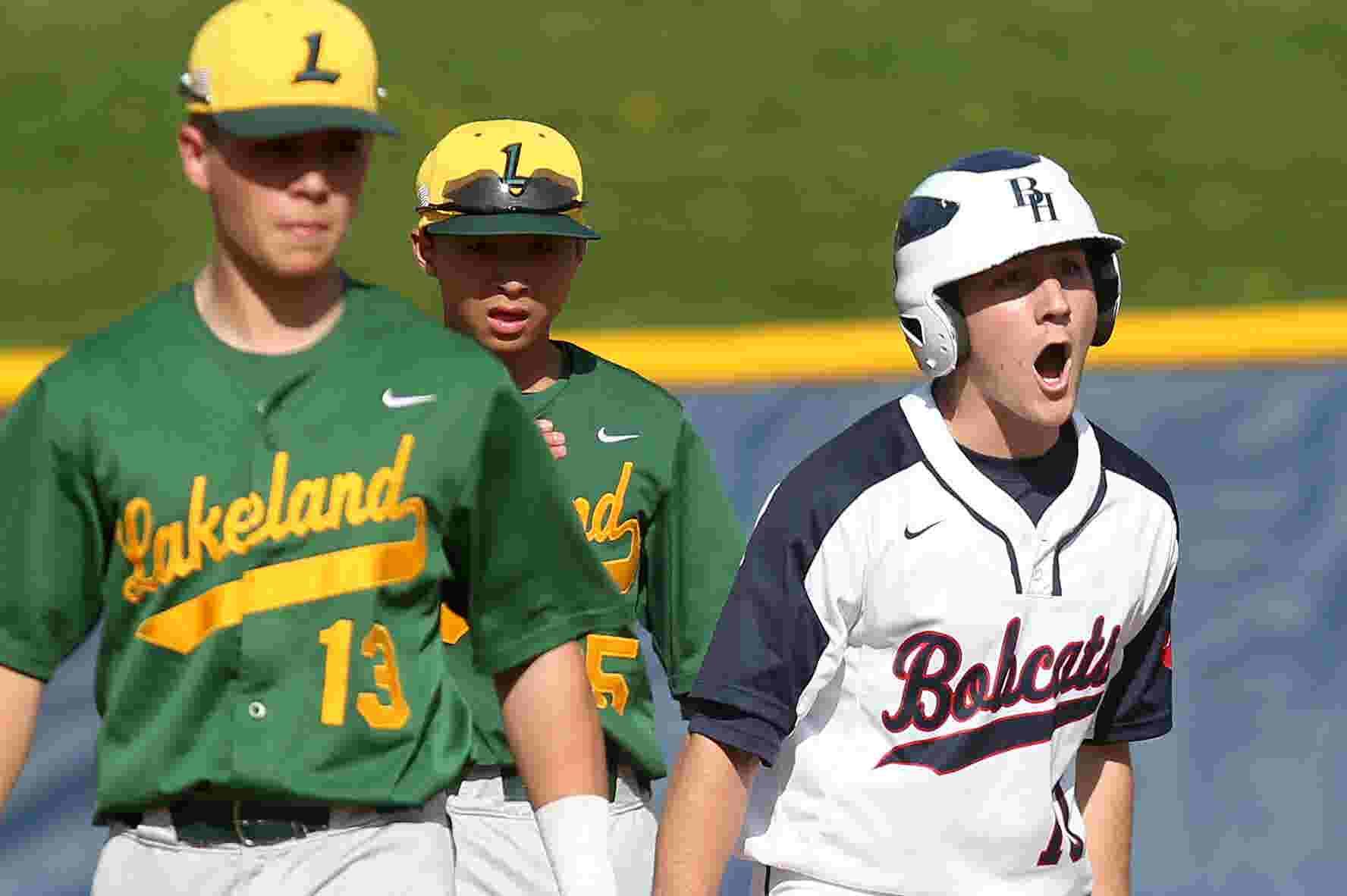 Video Byram Hills Tops Lakeland 8 6 In Baseball