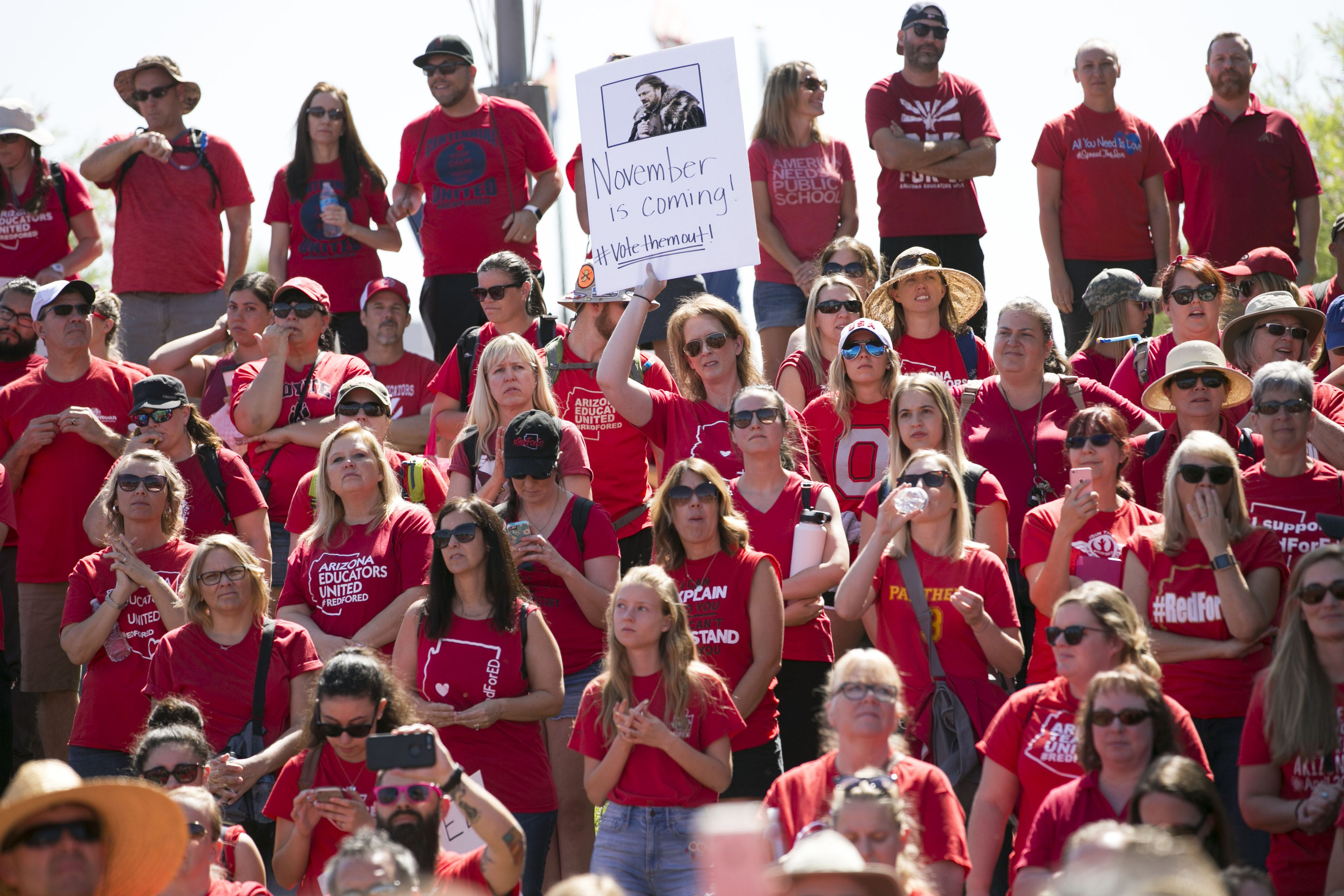 Arizona's #RedForEd movement evolves into quieter, broader political force