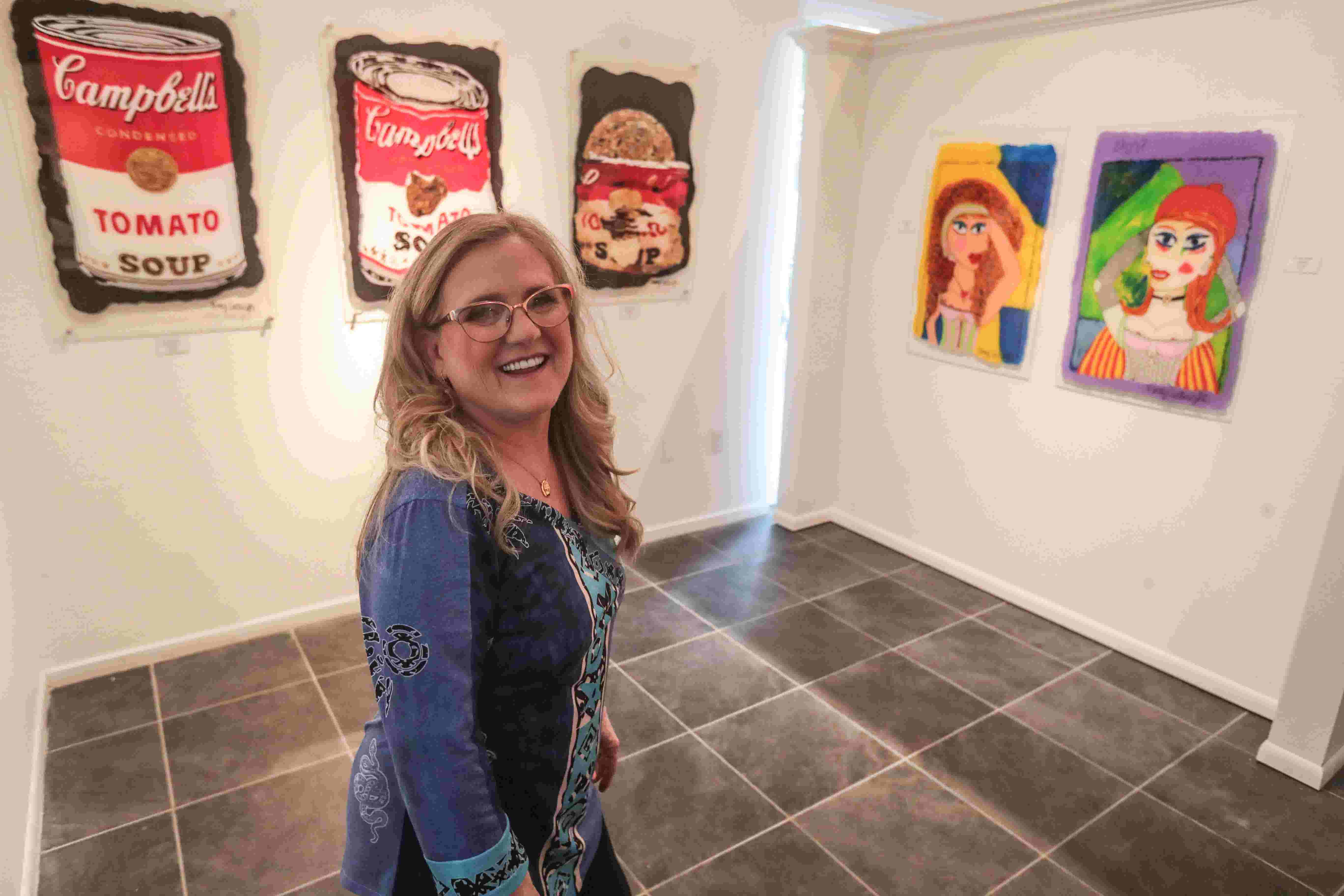 Meet Nancy Cartwright Voice Of Bart Simpson Who Now Says Eat My Shorts Through Her Art