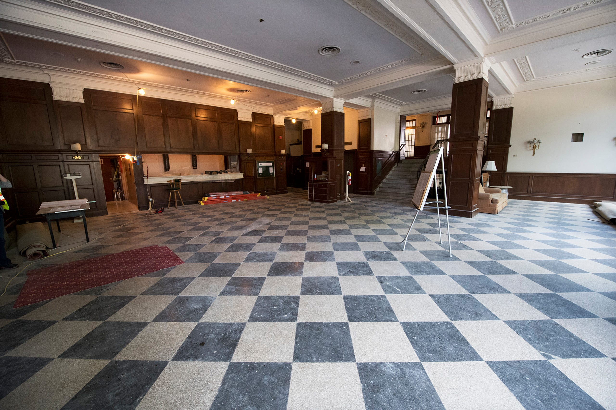 Photos Explore The Gutted Yorktowne Hotel During Construction