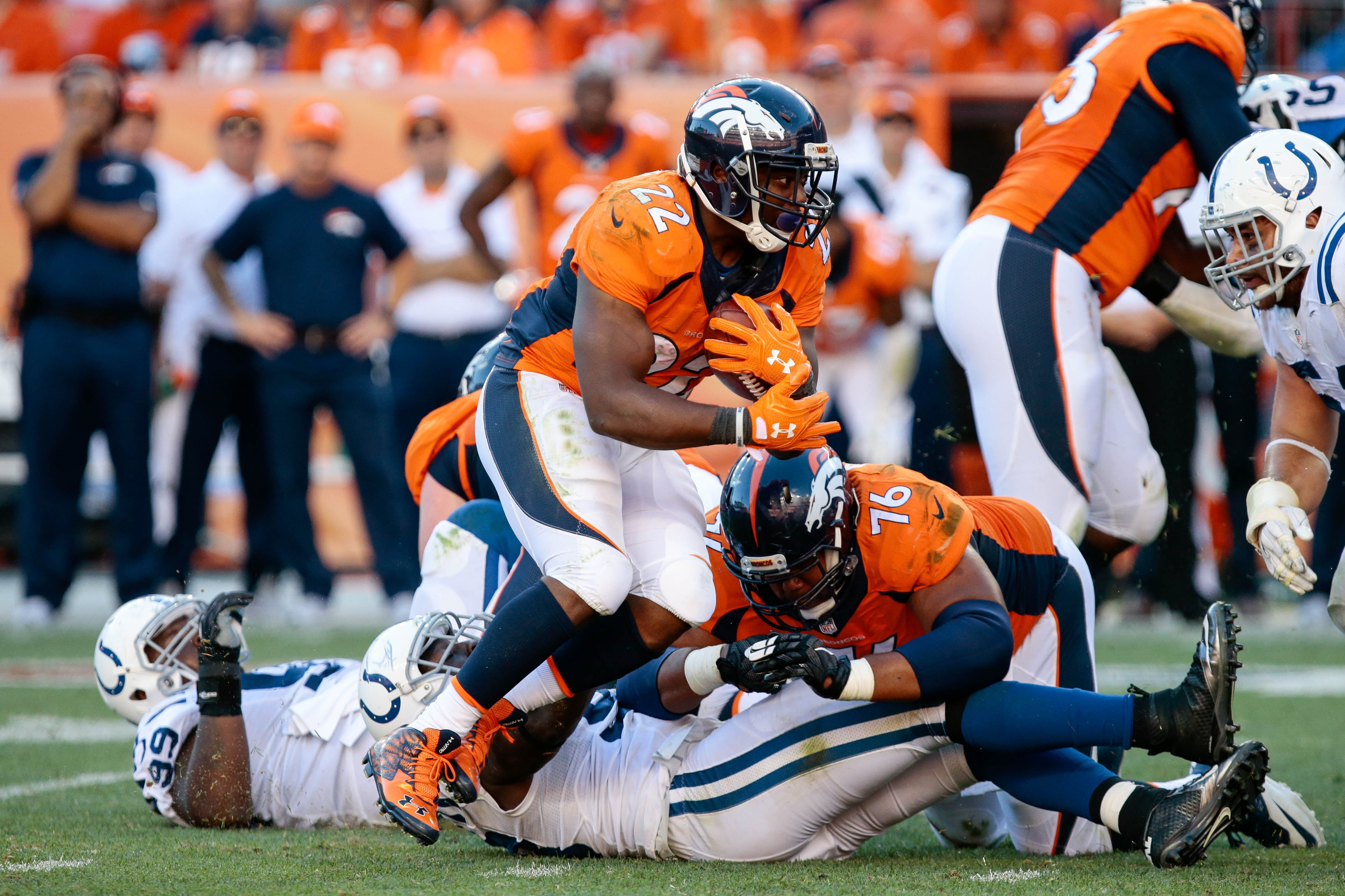 C.J. Anderson joins Carolina Panthers, will platoon with Christian McCaffrey