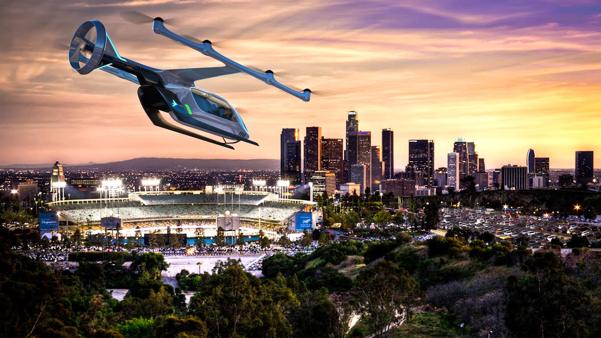 636613916453277315-EmbraerX Embraer floats new way to move around town: An electric taxi cab, like Uber for the skies