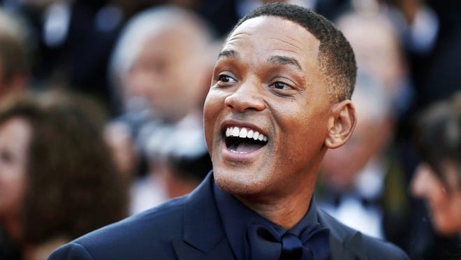 Actor Will Smith always seems to be smiling.