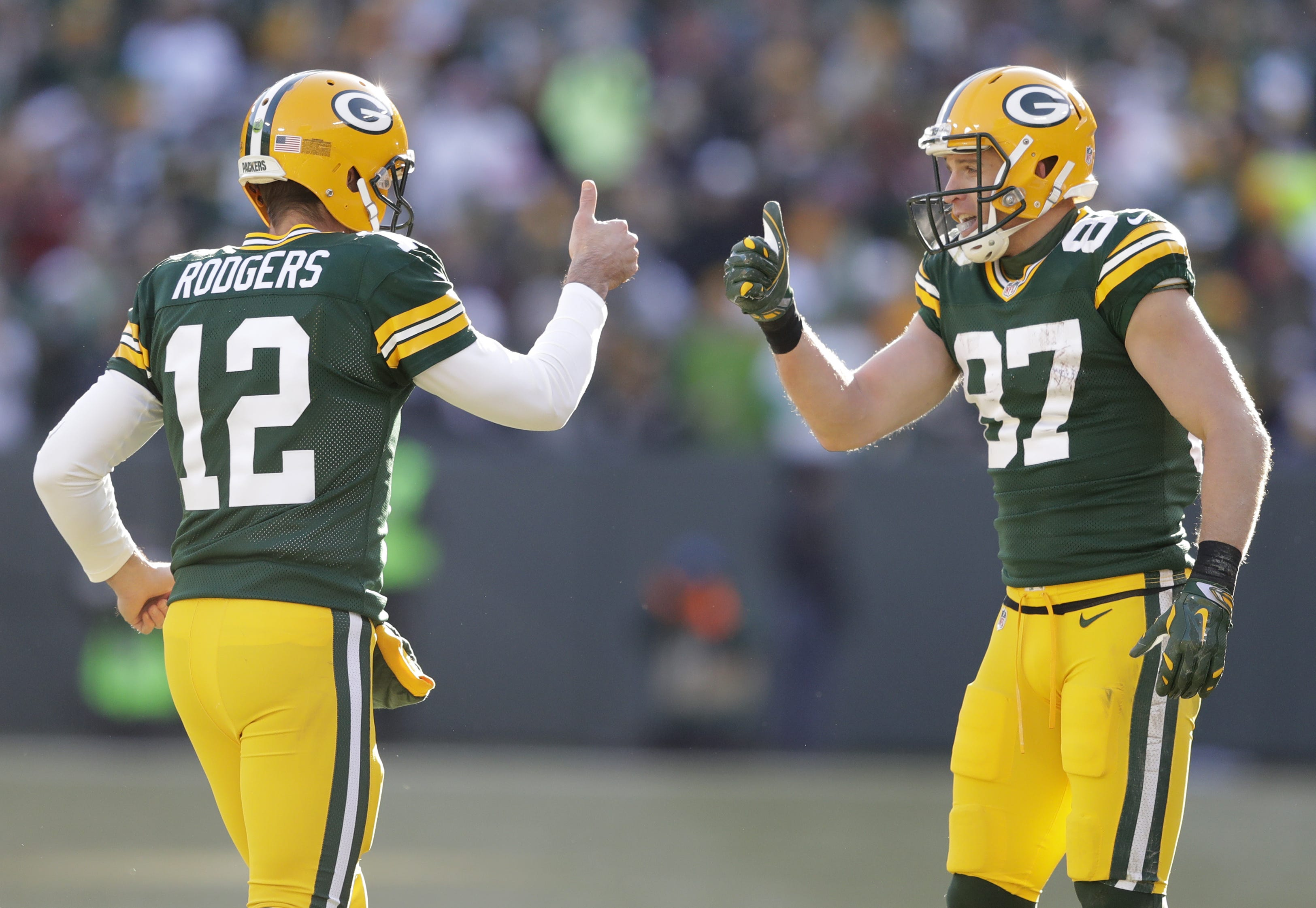 Jordy Nelson: It 'would be hard to say no' if Aaron Rodgers asked him to return to Packers