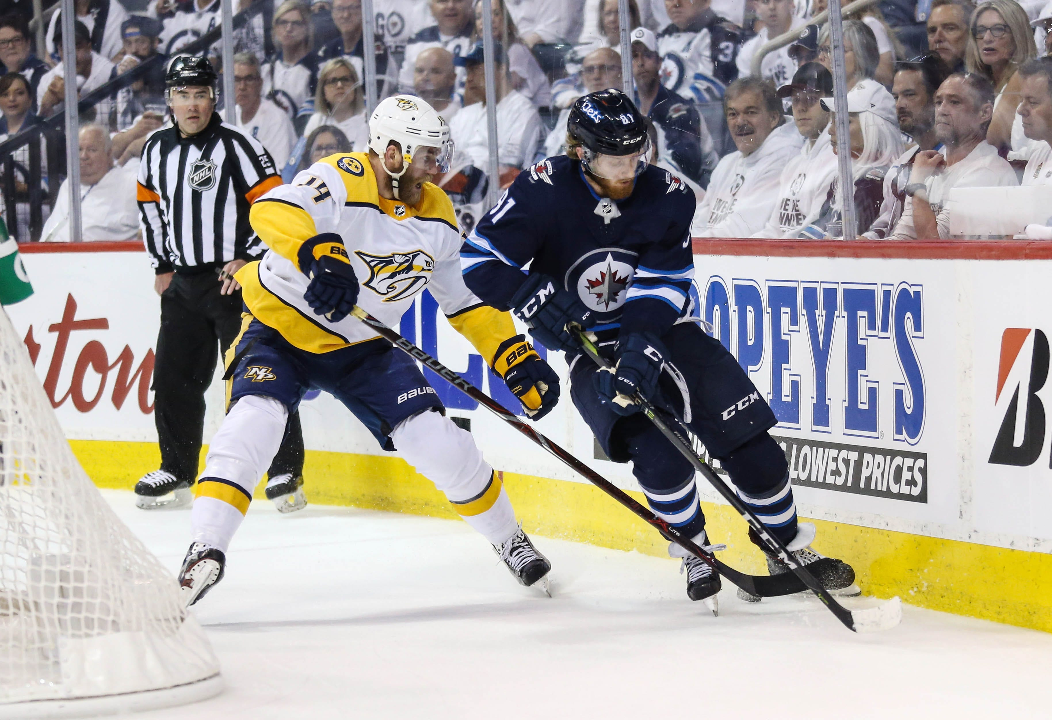 NHL playoffs: What to watch for in Predators-Jets Game 7