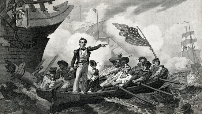 Were British accents a thing of the past by the War of 1812?