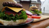 Chef Jeff Igel shows up how to grill a delicious, juicy hamburger.