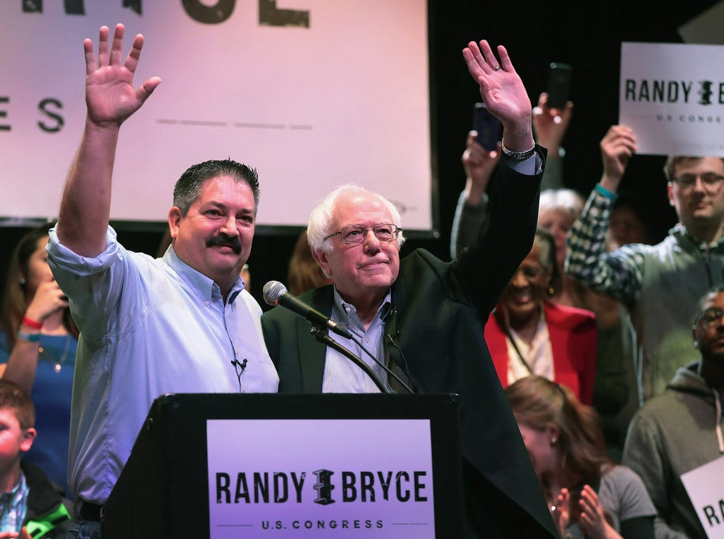 Bice: Democratic candidate Randy Bryce's brother donates to opponent after considering his own run for same seat | Milwaukee Journal Sentinel