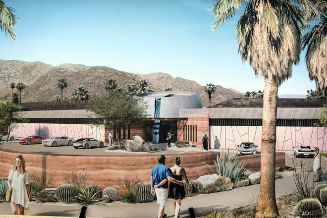 A rendering of the Agua Caliente Cultural Museum. The museum broke ground in Palm Springs on Friday, May 11, 2018.