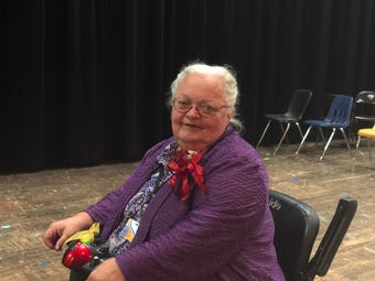 Actress and long-time Madison County School's theater teacher Becky Fly is retiring after 22 years.
