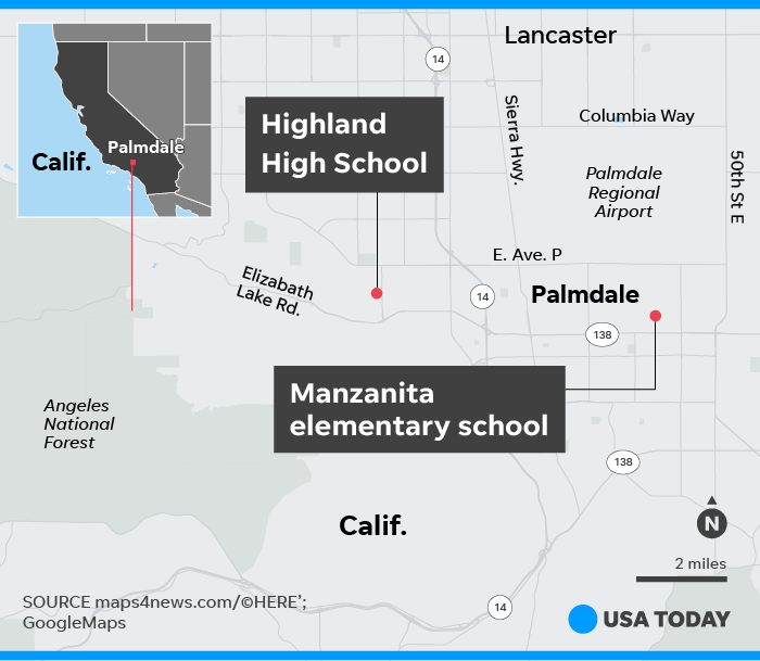 Highland High School Shooting: 1 Injured, Suspect Detained