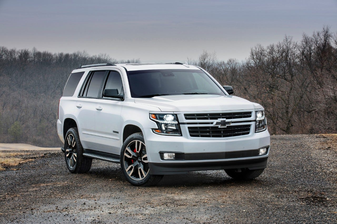 General Motors will reveal a redesigned version of the Chevrolet Tahoe in December 2019. Here, the 2018 Tahoe is pictured.