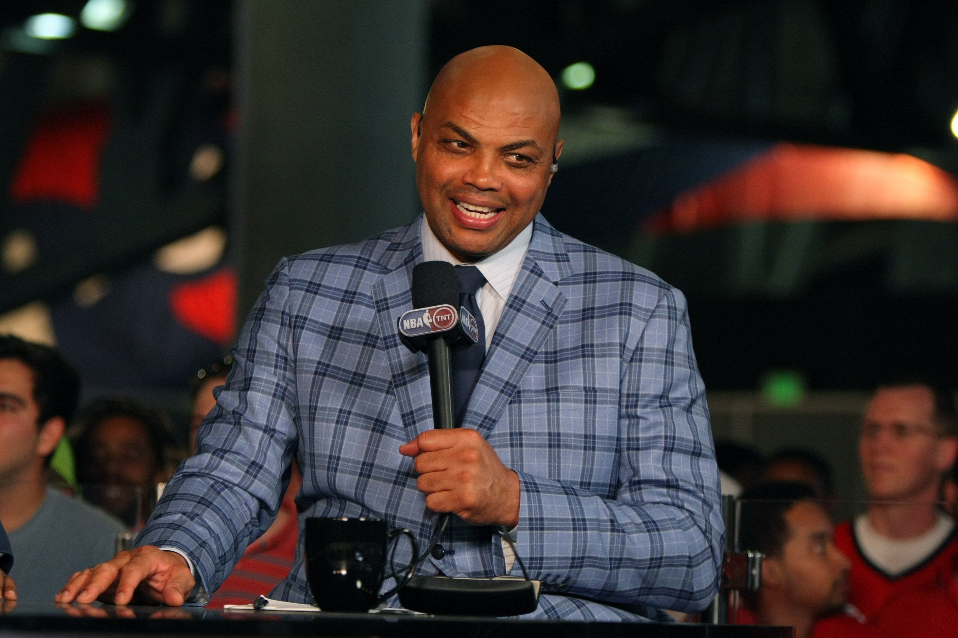 NHL fan Charles Barkley on playoff topics: If someone licks you, 'you've got to punch him'