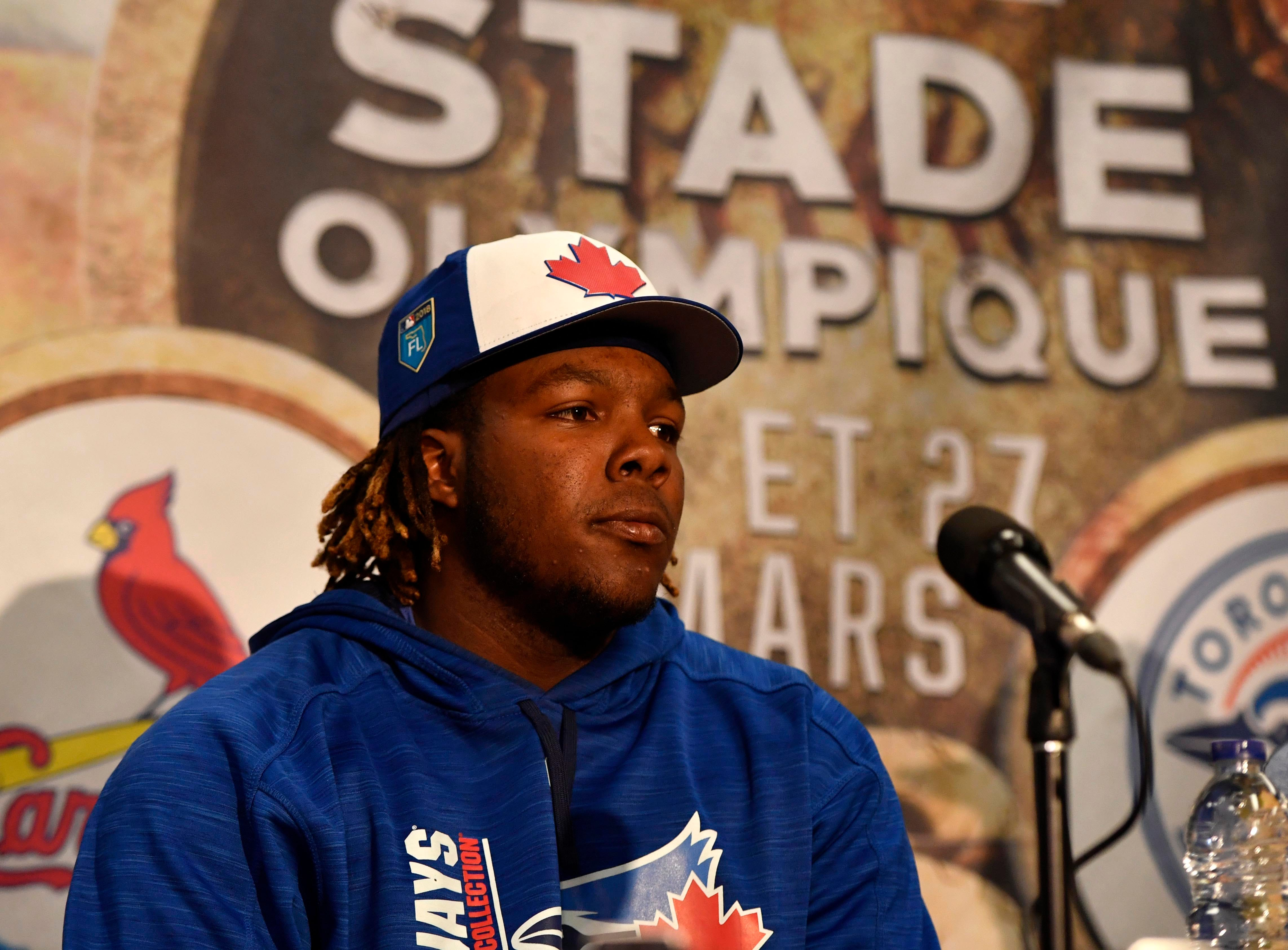 Guerrero Jr. sparks frenzy with Instagram post