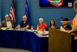 The Stevens Point City Council voted May 15, 2018, to convert part of Stanley Street to three lanes after hearing public comment.