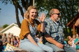 American Idol finalist Maddie Poppe of Clarksville, Iowa, visits her hometown to film segments for the finale of the competition.