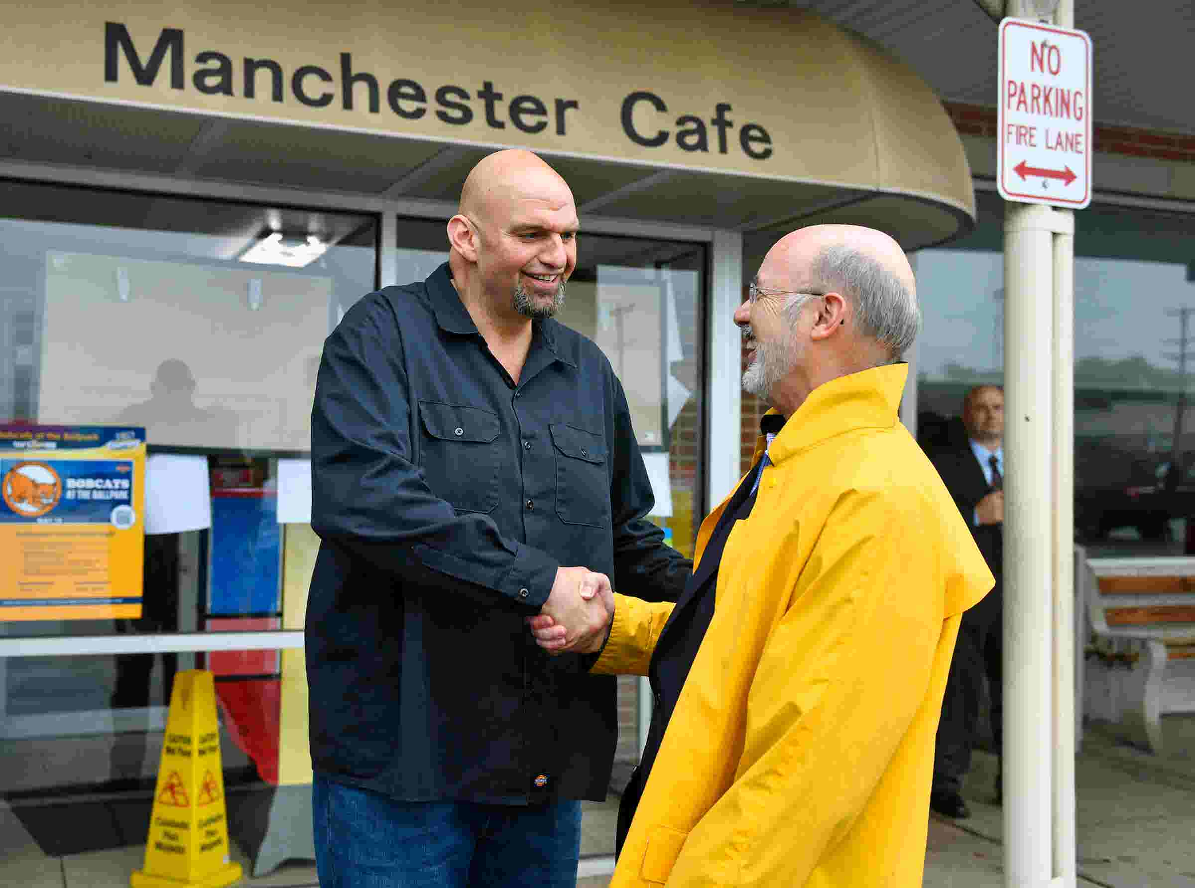 Pa Election Tom Wolf John Fetterman Meet For Lunch Cause A Stir