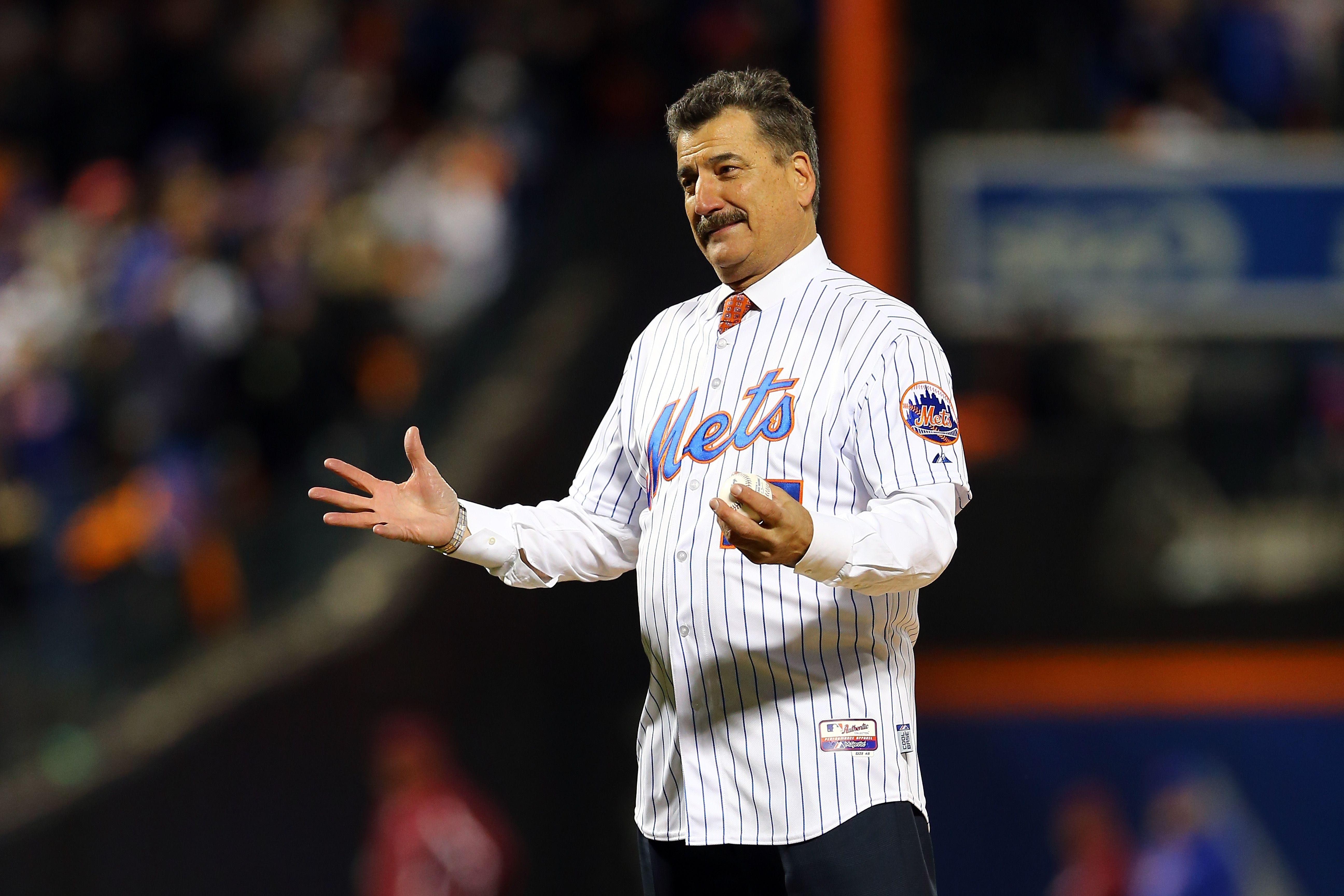 Keith Hernandez says 'you gotta hit' Ronald Acuña referring to Jose Urena's plunking