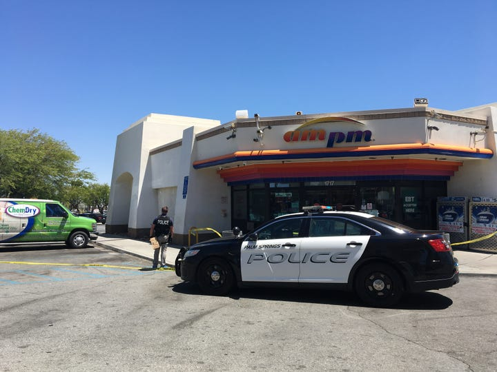 Stabbing in Palm Springs sends two to hospital