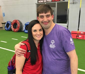 Special Olympics Mississippi athlete Bill Holden is full of gratitude when he learns he'll be on the Ole Miss Unified flag football team this summer.