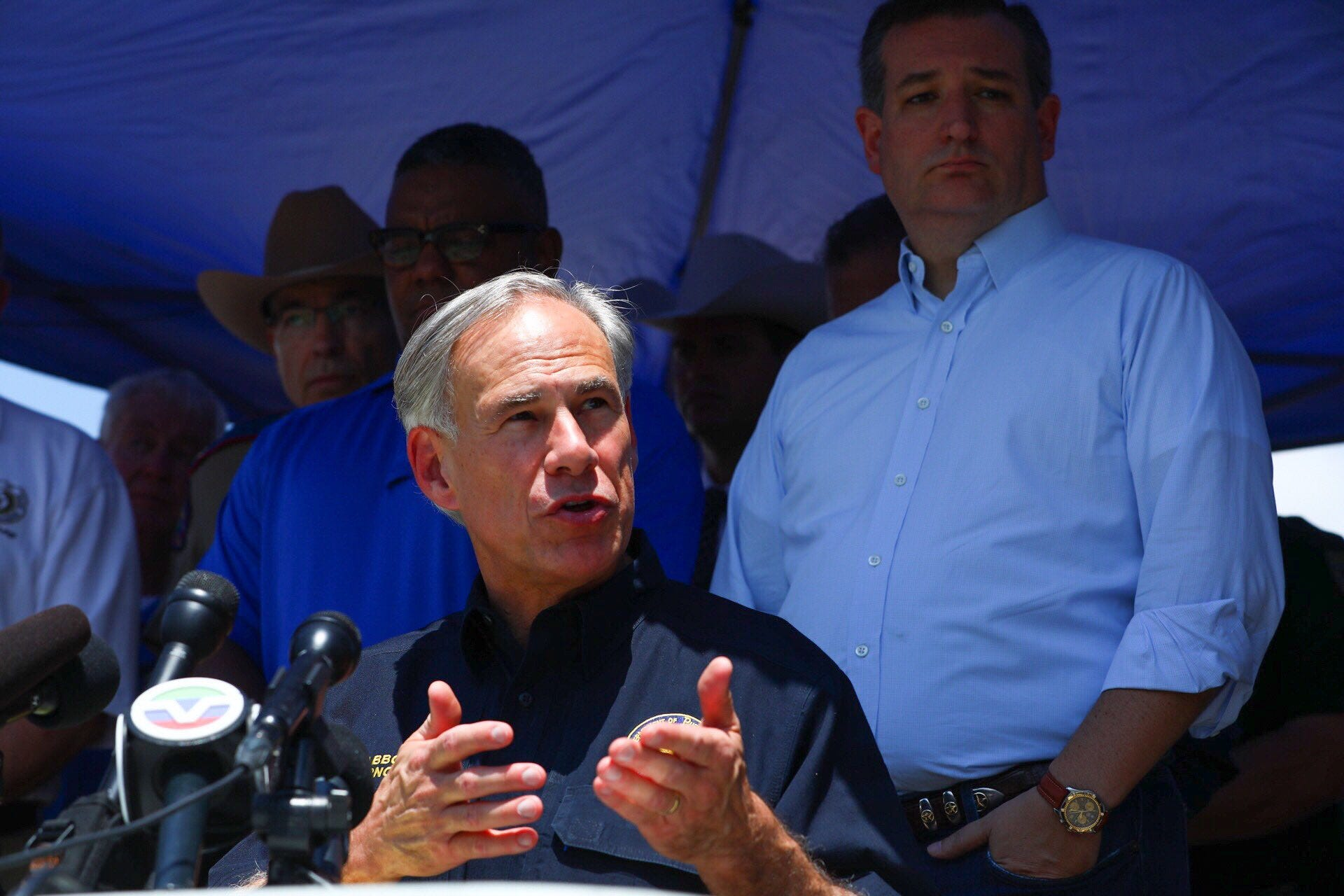 Greg Abbott has been governor of Texas since 2015 and seen five mass shootings.