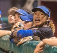 MTSU softball's Precious Birdsong tears up when sharing what MTSU has meant to her