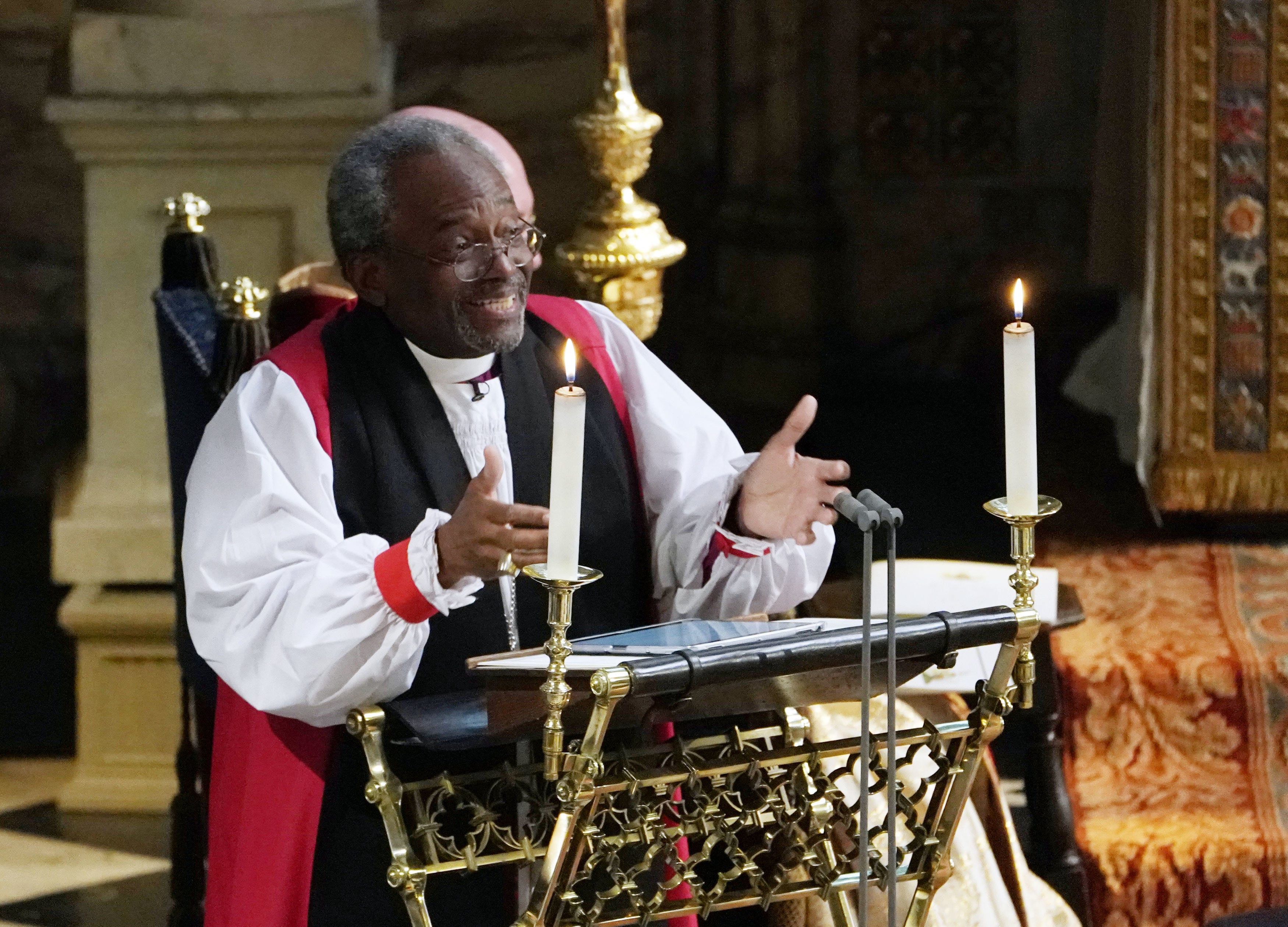 bishop michael curry of prince harry meghan markle wedding in maryland delmarvanow com