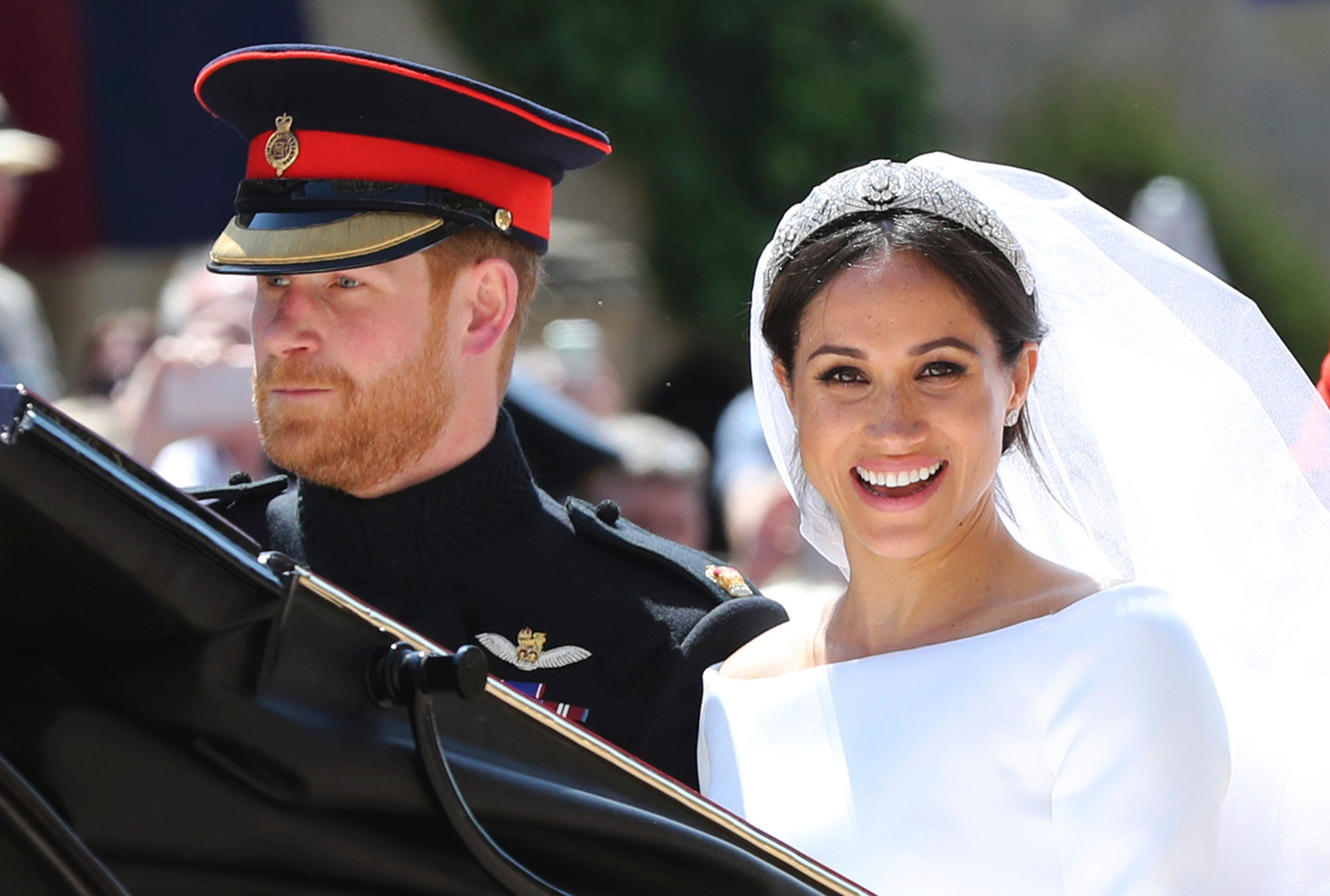 scenes from harry and meghan s royal wedding harry and meghan s royal wedding