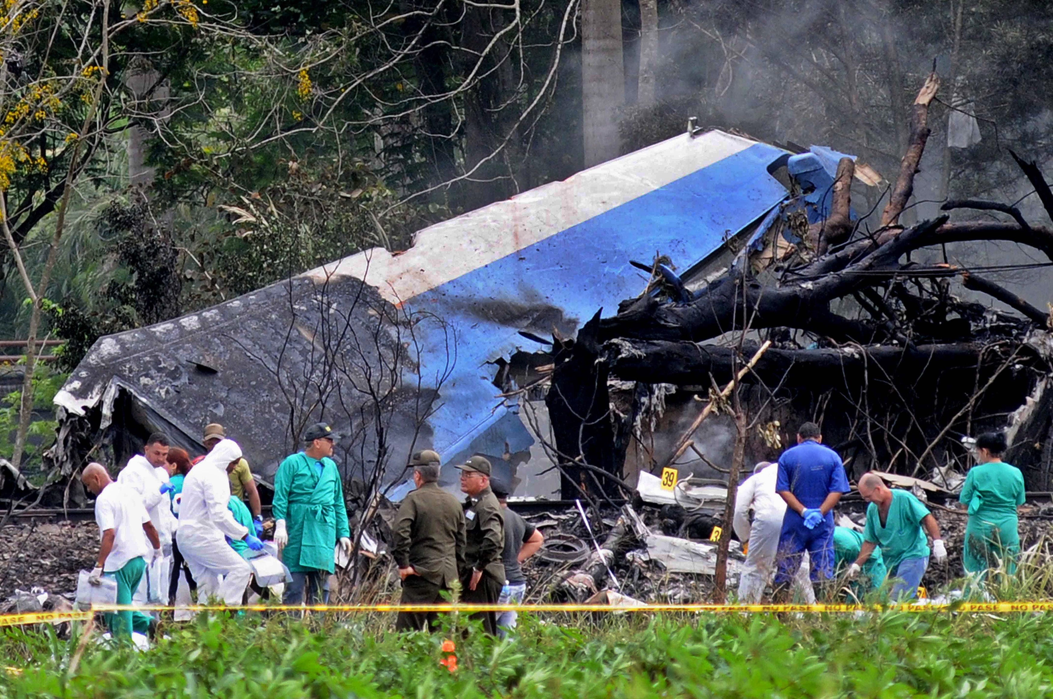 Cuba: 3 survivors in grave condition after airliner with 110 aboard crashes
