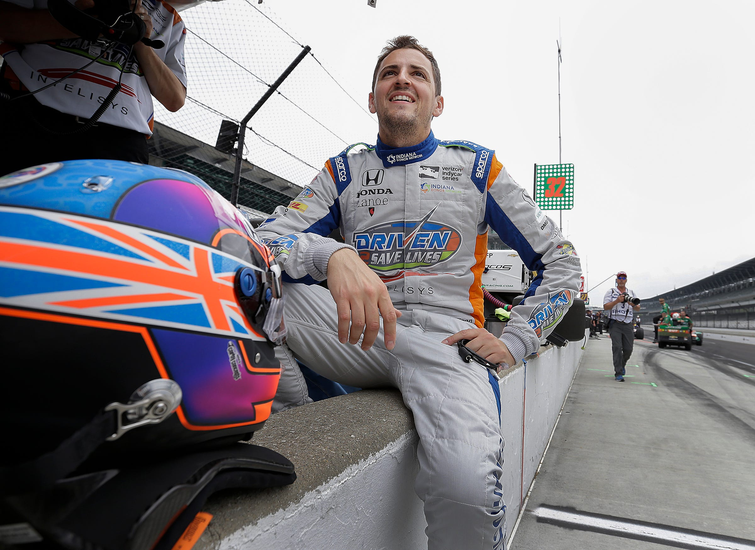 Stefan Wilson returns to the Indy 500